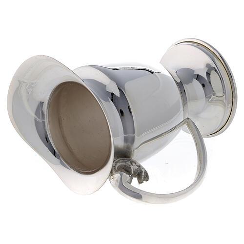 Set ampolline messa ricambio ottone argentato 9 cm 4