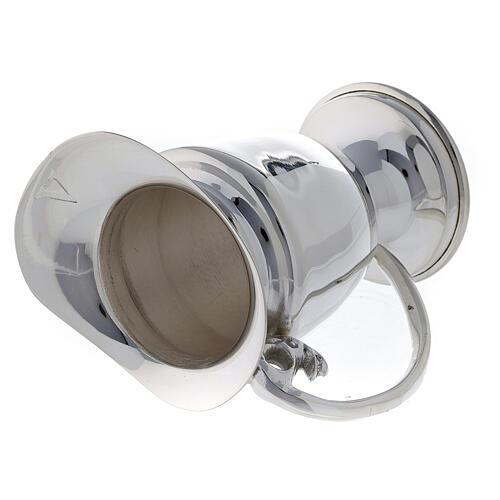 Set ampolline messa ricambio ottone argentato 9 cm 5