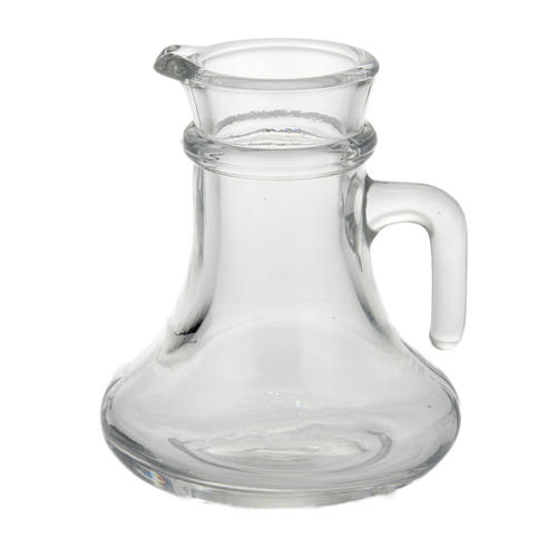Glass cruet set replacement bottle 200 ml 1
