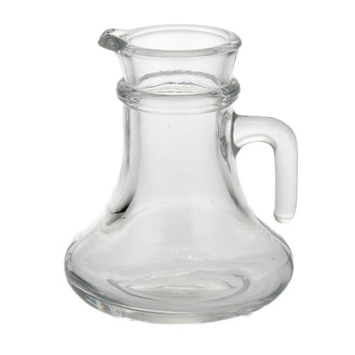 Glass cruet set replacement bottle 200cc 2