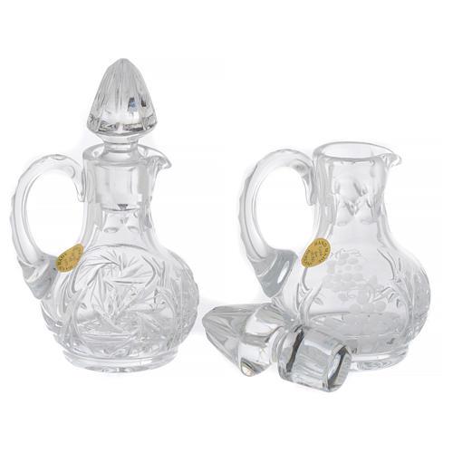 Servicio 2 vinajeras cristal 50 ml 3