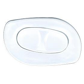 Glass cruets with plate 50 ml s3