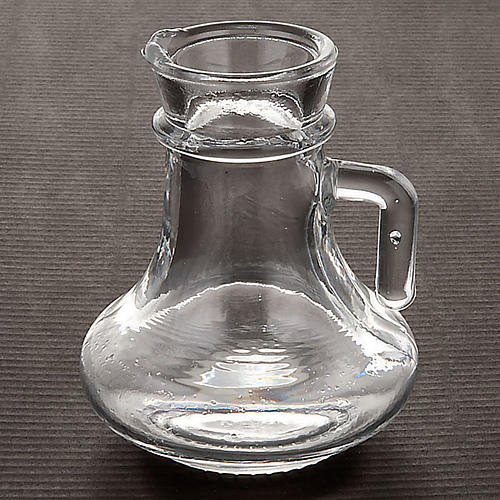Glass cruet set for mass, replacement bottle 100cc