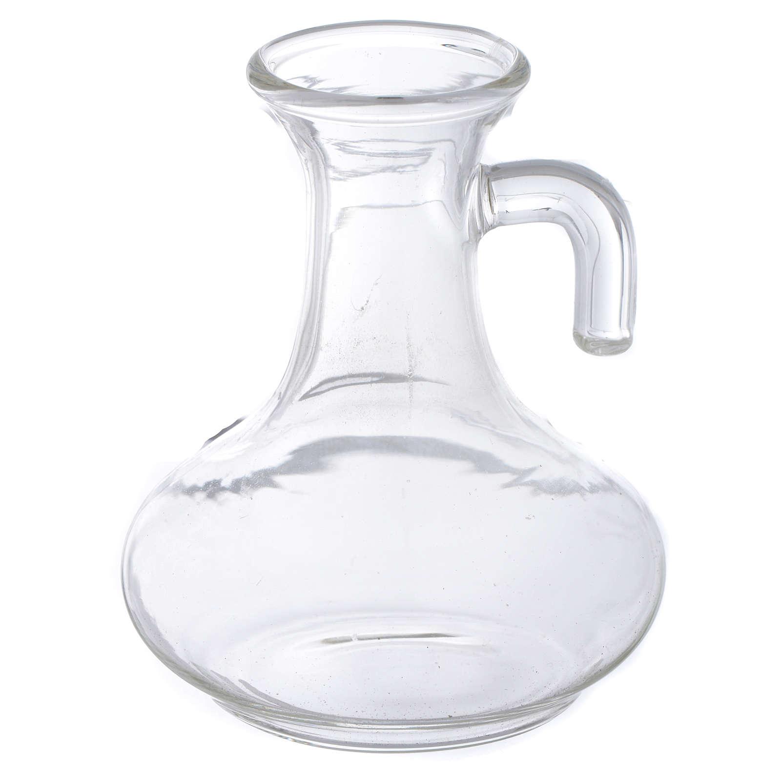 Glass cruet set, replacement bottle 50cc 4