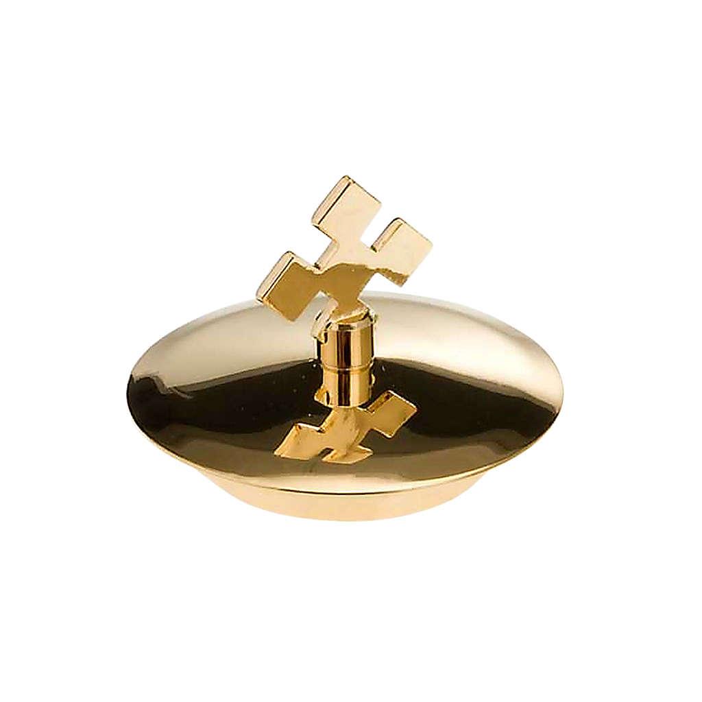 Repuesto vinajeras mar y  style: pareja de tapas doradas 4