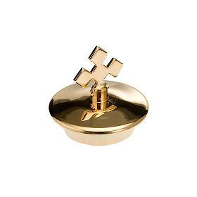 Jogo tampas sobressalentes galhetas vidro bandeja quadrada ouro s1