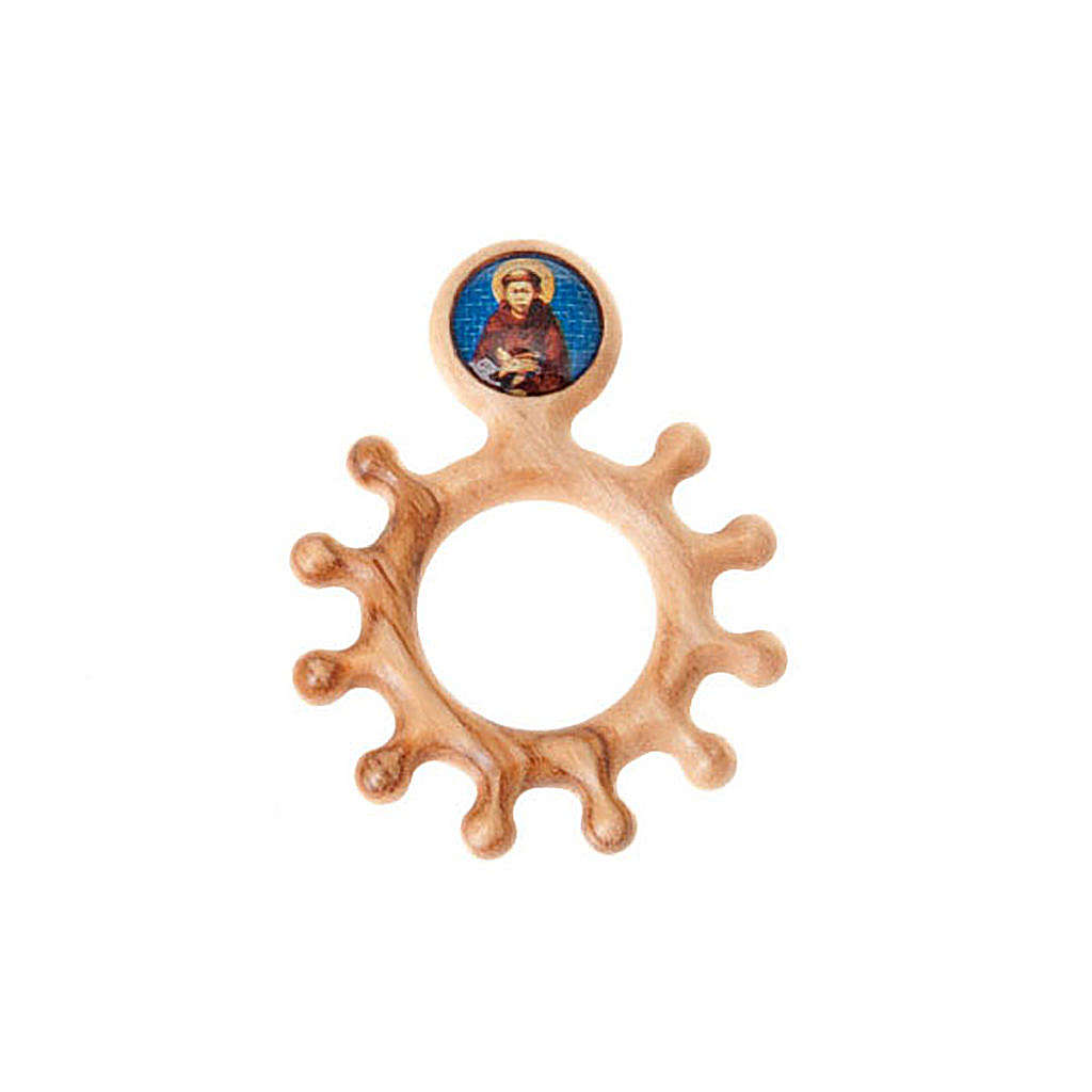 Prayer rosary ring Saint Frencis 3