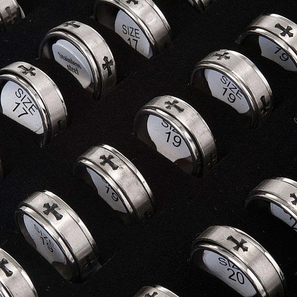 Ring pack revolving crosses 3
