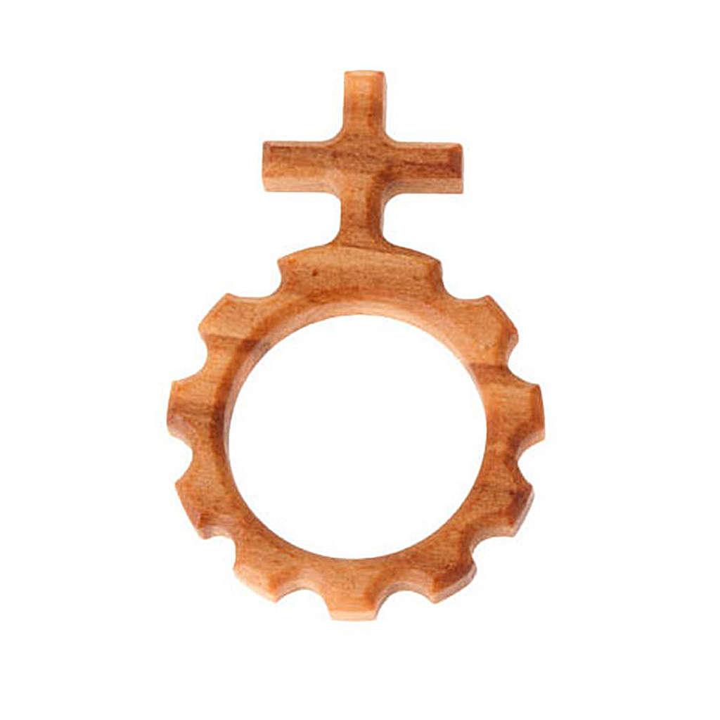 Prayer rosary ring Scout ten beads 3