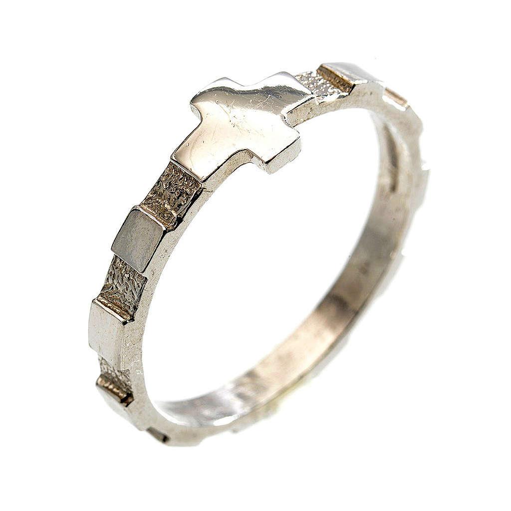 Rosario anello decina argento 925 3