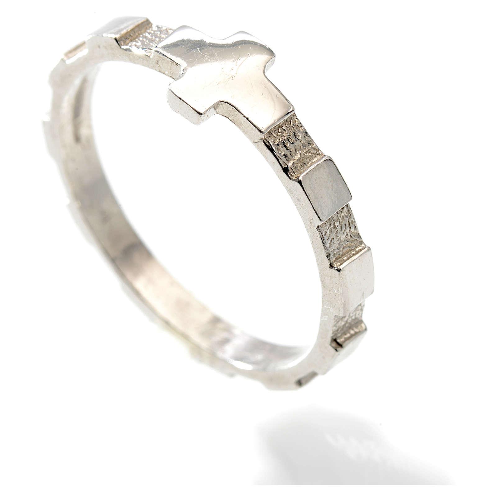 Różaniec obrączka dziesiątka srebro 925 3