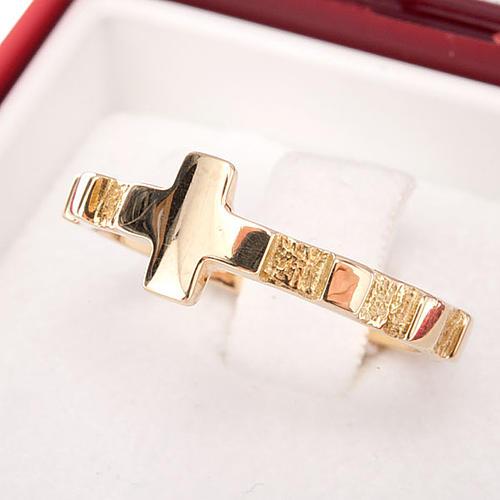 Rosary ring gold 18K 4