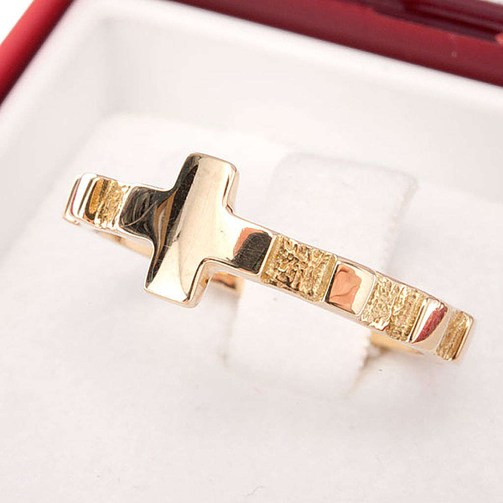 Rosary ring gold 18K 3