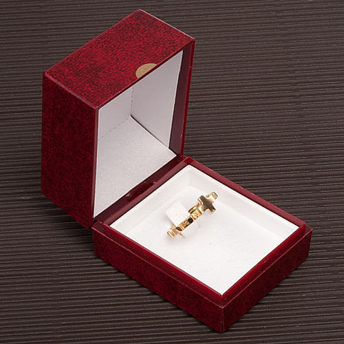 Rosary ring gold 18K 2