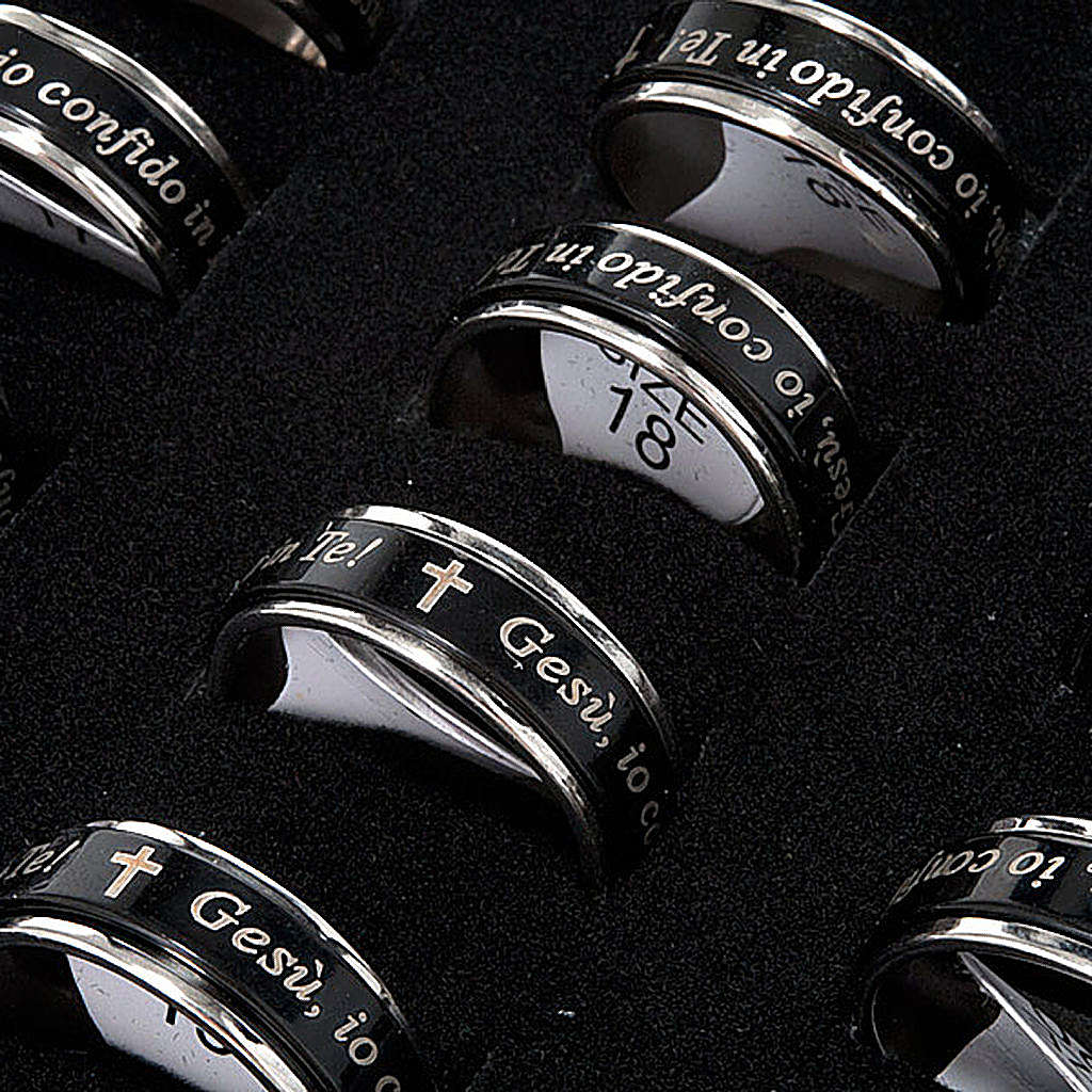 I confide in Jesus ring pack revolving - ITALIAN 3