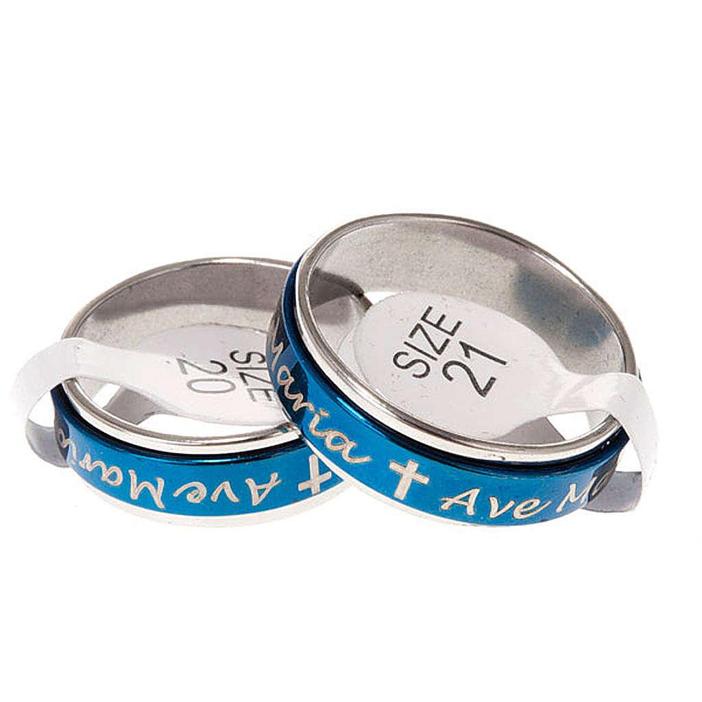 Caja anillo giratorios Ave María 3