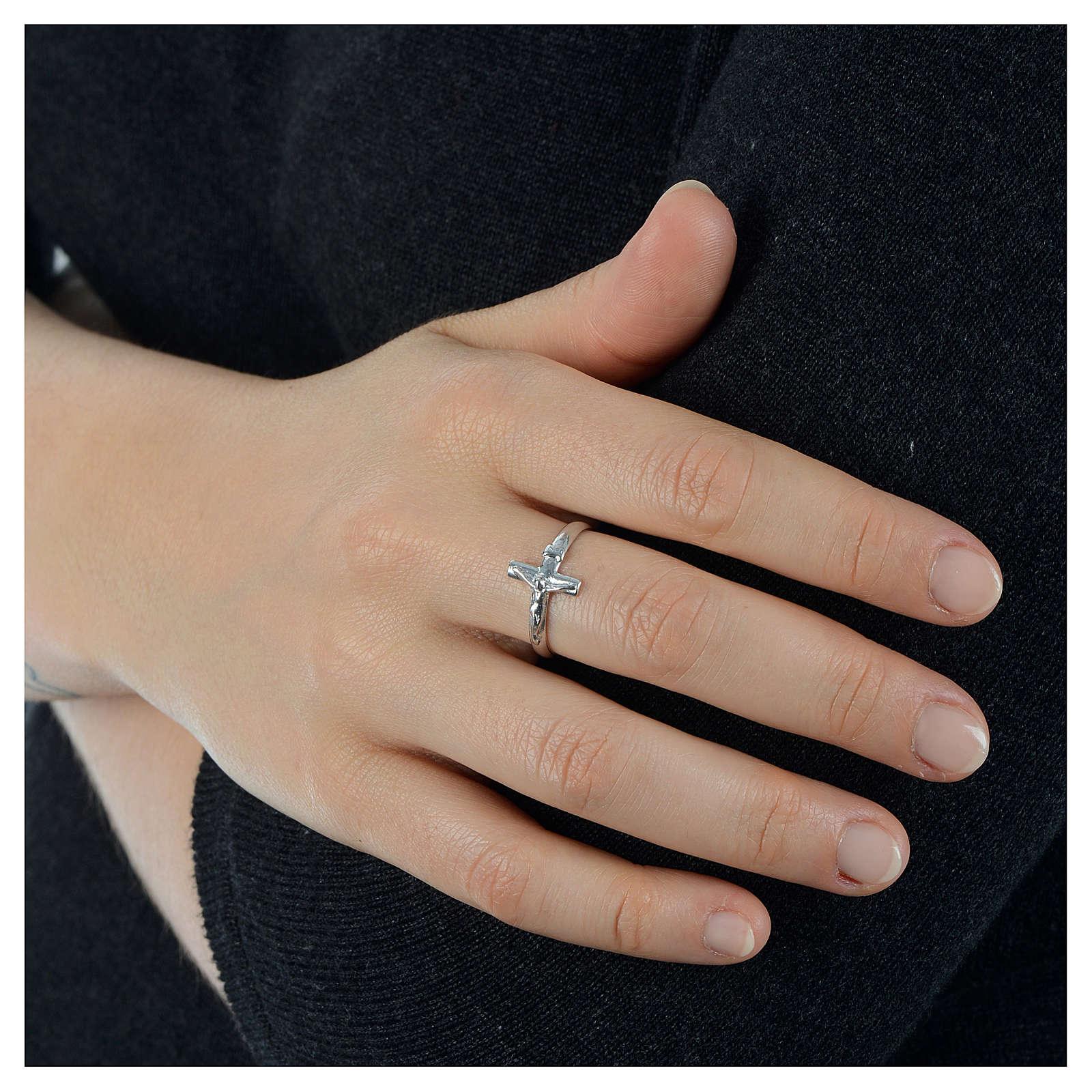 Ring mit Kruzifixe Silber 925 3