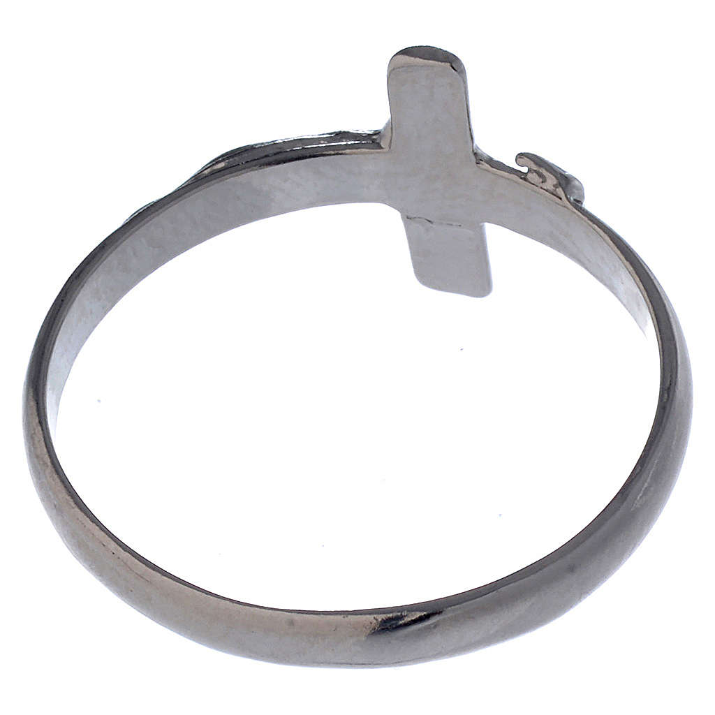 Anello Argento 925 con croce 3