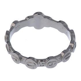 Rosenkranz Ring Medugorje Silber 800 s4