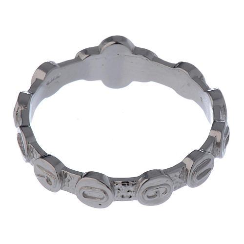 Rosenkranz Ring Medugorje Silber 800 4