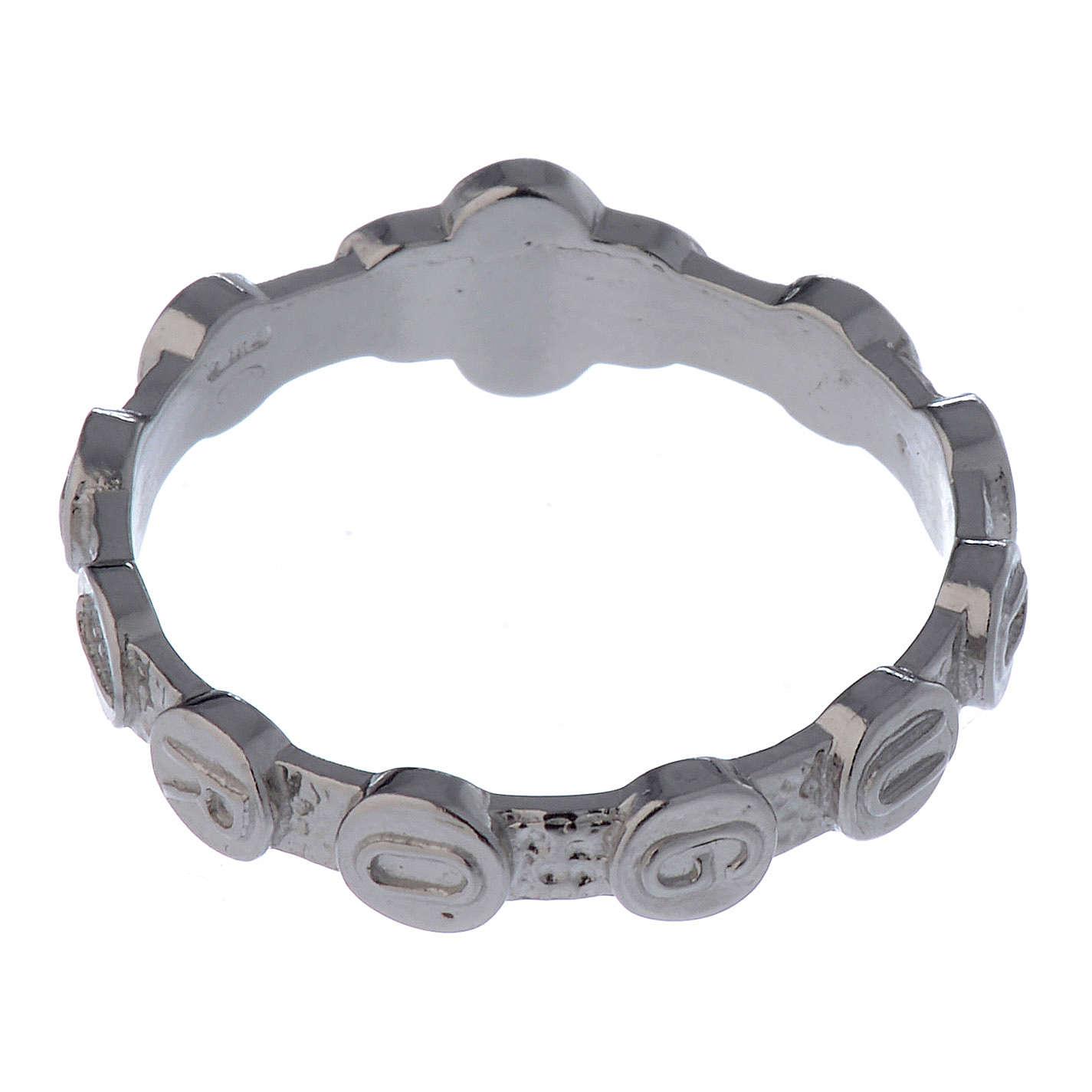 Medugorje ring in 800 silver 3