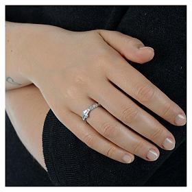 Medugorje ring in 800 silver s2