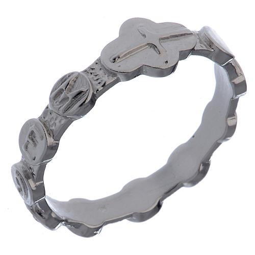 Medugorje ring in 800 silver 1