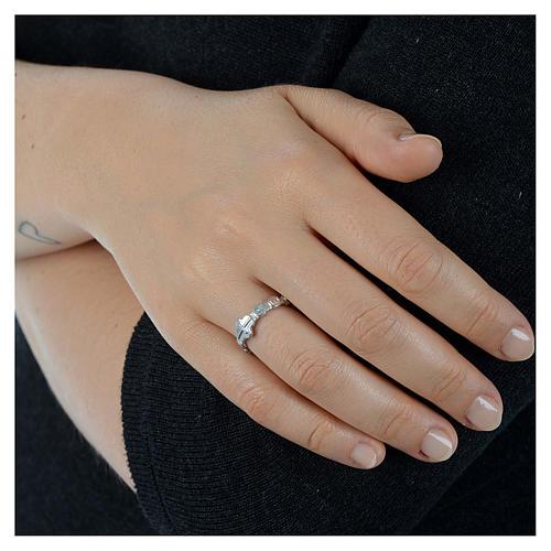 Medugorje ring in 800 silver 2
