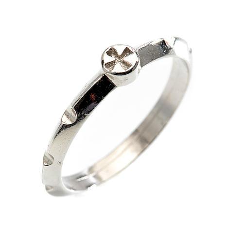 Rosario anello decina argento 925 1