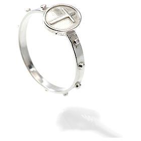 Obrączka dziesiątka różańca srebro 925 s2