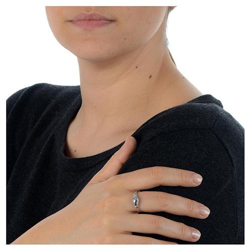 Rosenkranz Ring Heilige Rita Silber 925 2