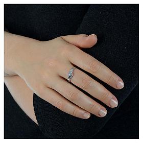 Pierścionek Dłonie srebro 925 s3