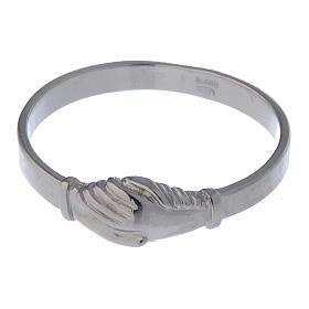 Pierścionek Dłonie srebro 925 s4