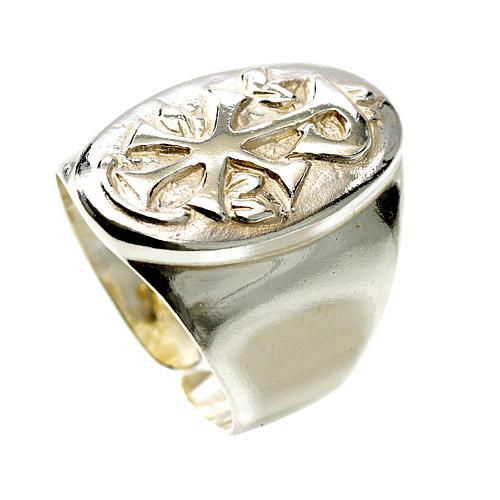 Pierścień srebro 925 XP regulowany 1
