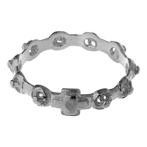 Décima anillo de plata 925 decorado 4