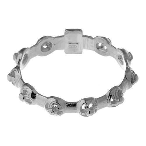 Dezena anel prata 925 decorada 5