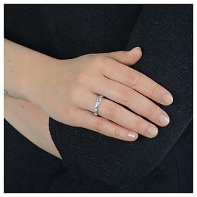 Decina Argento 925 zircone bianco s6