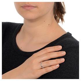Rosenkranz Ring mit Bällchen Silber 925 s2