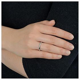 Rosenkranz Ring mit Bällchen Silber 925 s3