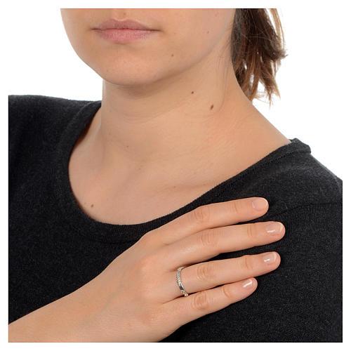 Rosenkranz Ring mit Bällchen Silber 925 2