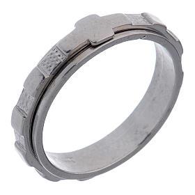 Rosenkranz Ring Silber 925 drehbar s1