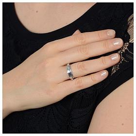 Rosenkranz Ring Silber 925 drehbar s3