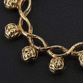 Basque ring rosary, prayer ring in gilded 800 silver s3