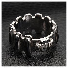 Rosenkranz Ring MATER getönten Silber 925 s4