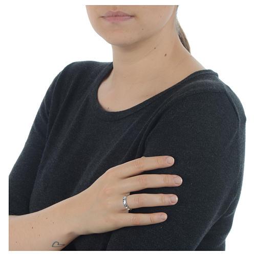 Anello decina argento 925 4