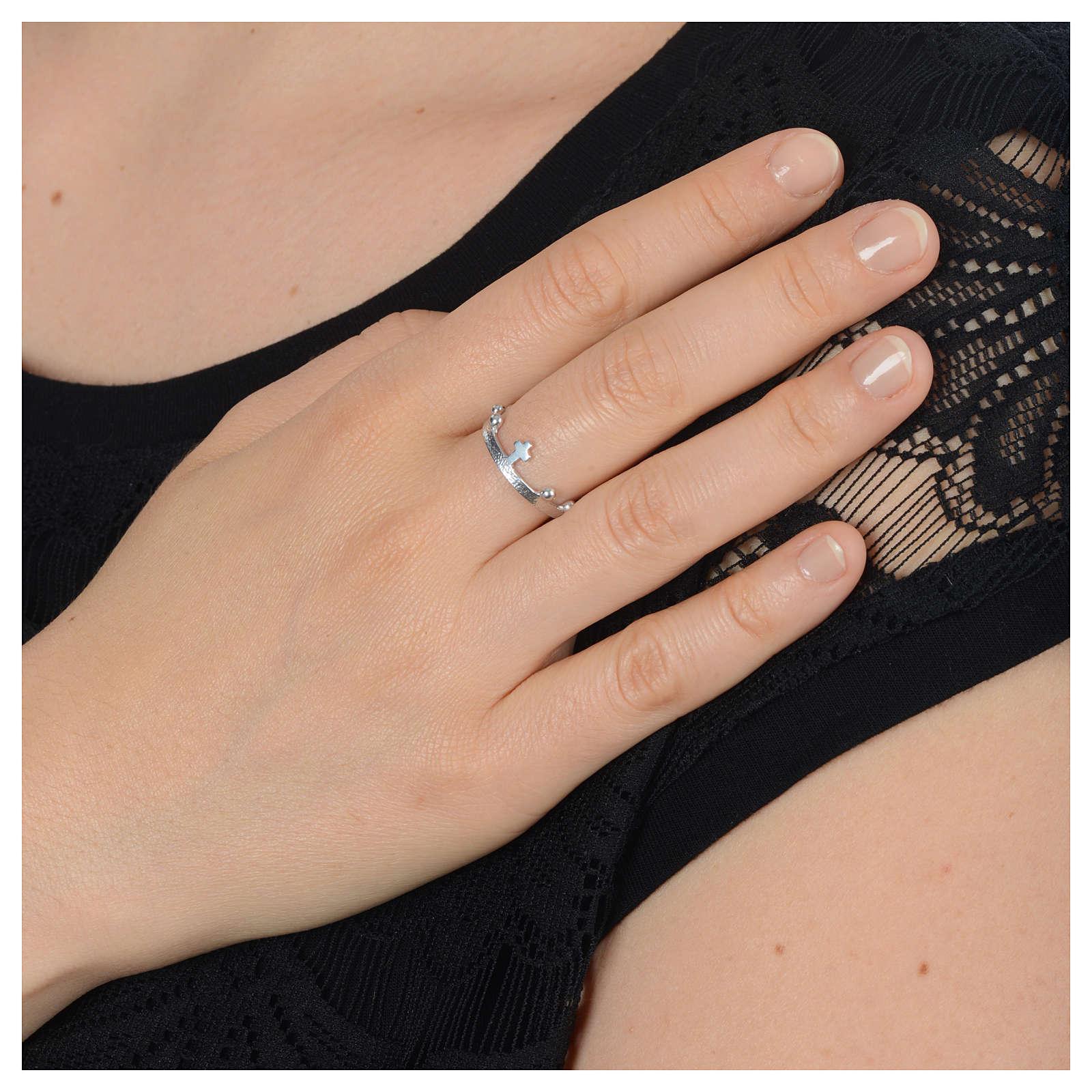 Anello decina in argento 925 3