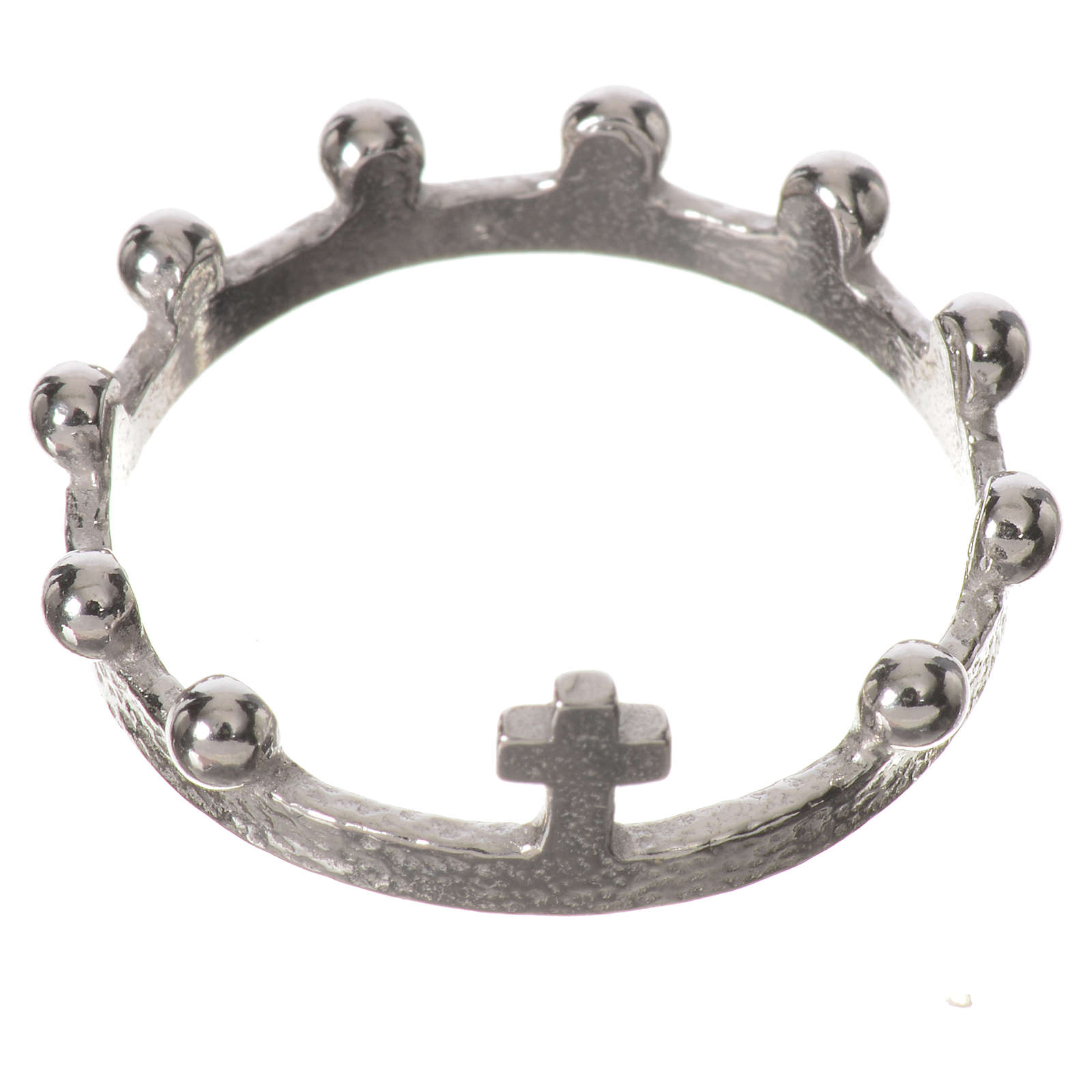 Single decade prayer ring in 925 silver 3