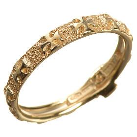 Anello decina oro 750/00 giallo - gr. 3,02 s2