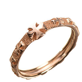 Anello decina oro 750/00 rosso - gr. 2,94 s1