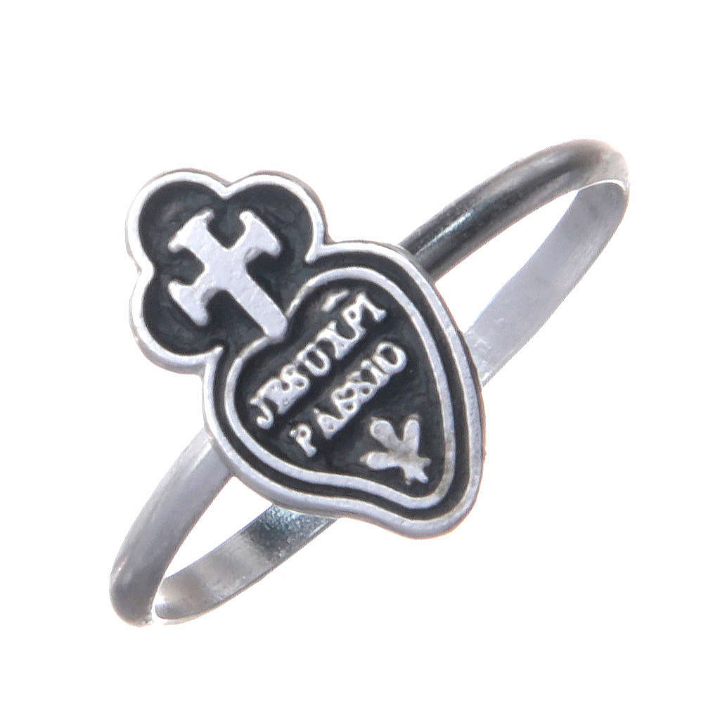 Pierścień Pasjonistów srebro 800 3